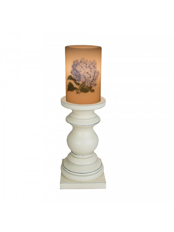 Medium Jefferson Antique Pedestal in Country White